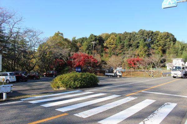 定光寺公園駐車場