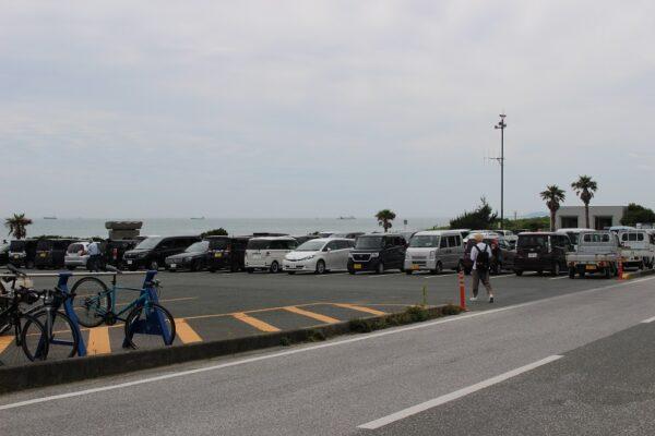 伊良湖岬駐車場